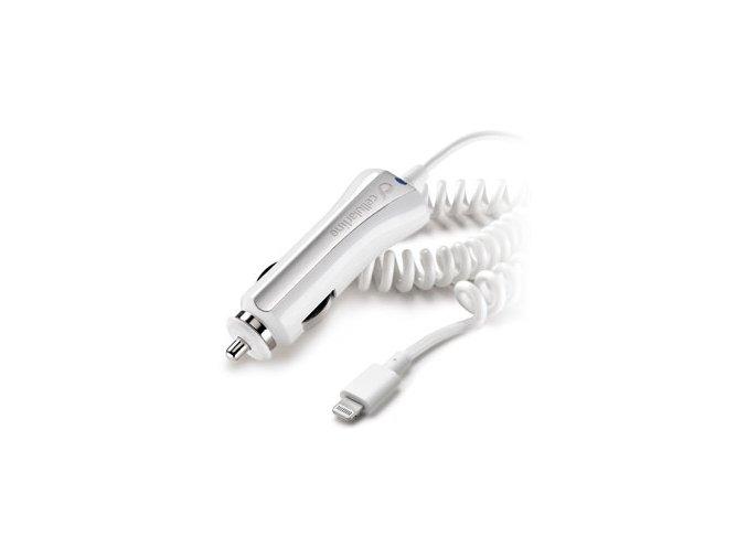 Auto-nabíječka s Lightning kabelem pro iPhone - CellularLine, 1A