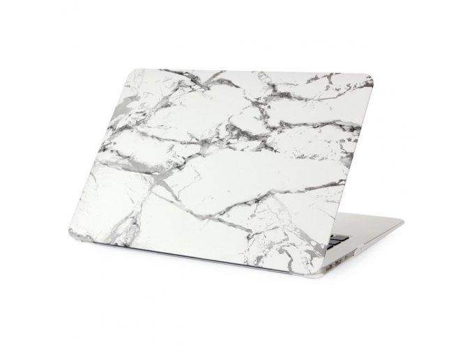 Polykarbonátové pouzdro / kryt na MacBook Air 13 (2010-2017) - Marble White