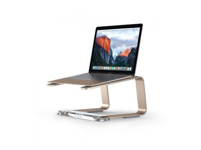 Stojan pro MacBook -  Griffin, Elevator Gold