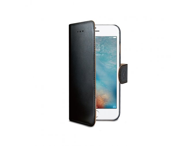 Pouzdro / kryt pro iPhone 7 / 8 - CELLY, Wally Black