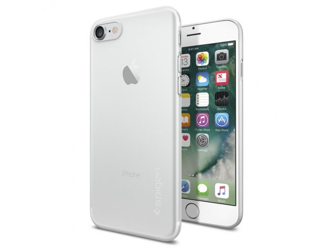 Pouzdro / kryt pro Apple iPhone 7 - Spigen, Air Skin Soft Clear