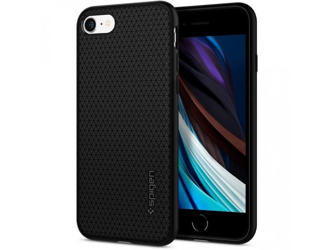 Pouzdro / kryt pro Apple iPhone 7 / 8 - Spigen, Liquid Air Black