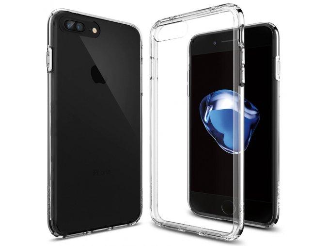 Pouzdro / kryt pro Apple iPhone 7 PLUS / 8 PLUS - Spigen, Ultra Hybrid Crystal Clear
