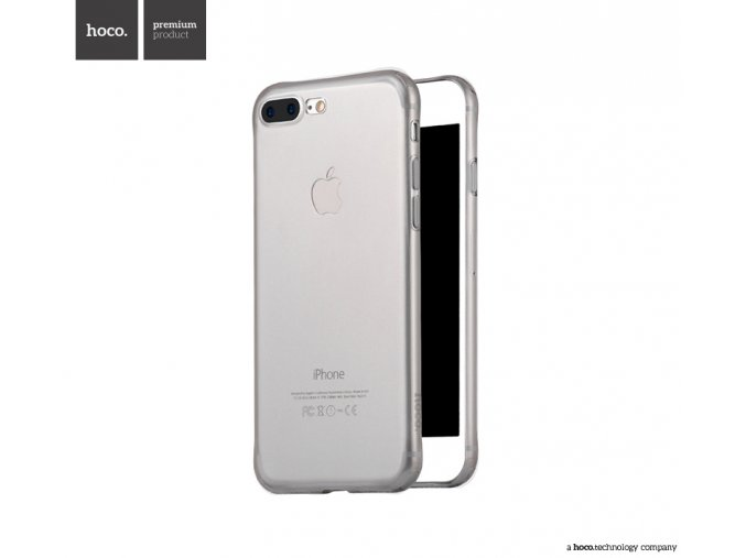 Ochranný kryt pro iPhone 7 PLUS / 8 PLUS - HOCO, Light Black