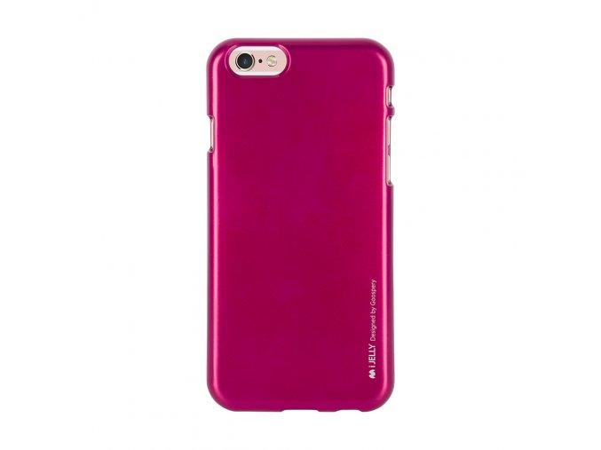 Pouzdro / kryt pro Apple iPhone 6 / 6S - Mercury, i-Jelly Hotpink