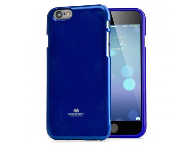 Pouzdro / kryt pro Apple iPhone 6 / 6S - Mercury, Jelly Case Blue