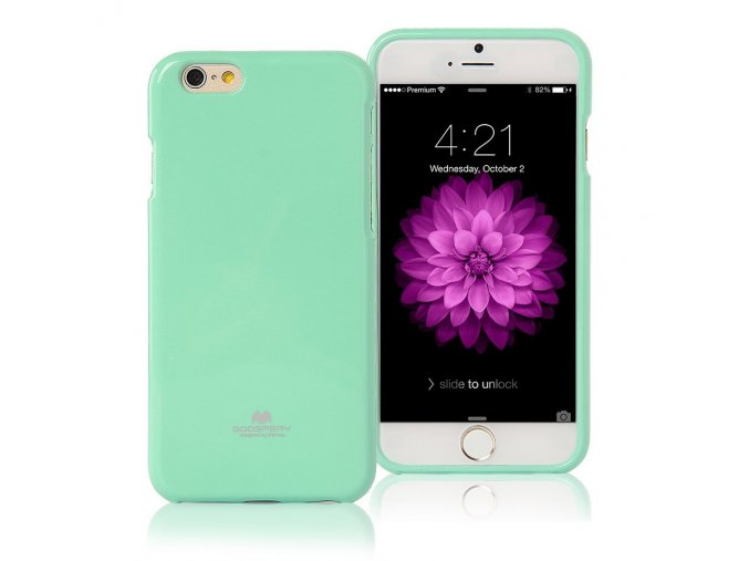 Pouzdro / kryt pro Apple iPhone 6 / 6S - Mercury, Jelly Case Mint