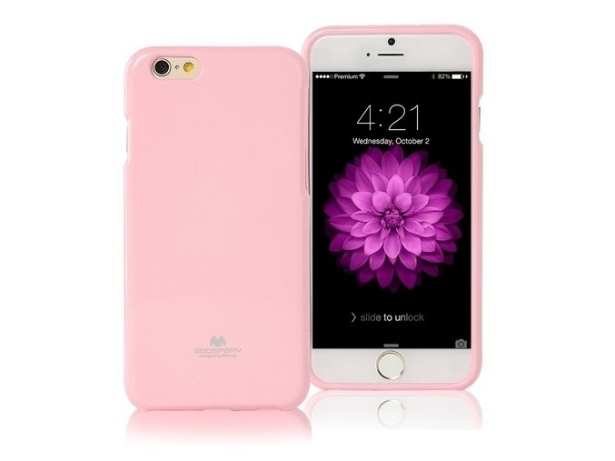 Pouzdro / kryt pro Apple iPhone 7 / 8 - Mercury, Jelly Case Pink