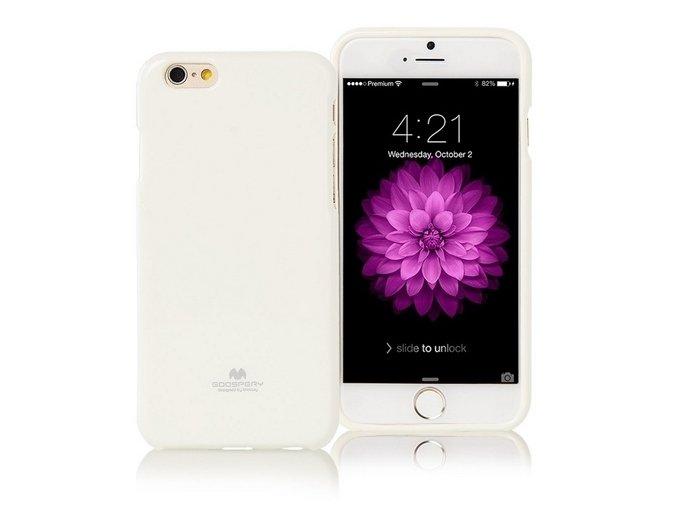 Pouzdro / kryt pro Apple iPhone 7 / 8 - Mercury, Jelly Case White