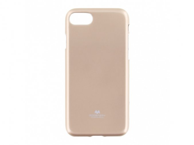 Pouzdro / kryt pro Apple iPhone 7 / 8 - Mercury, Jelly Case Gold