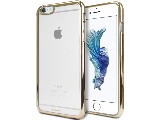 Pouzdro / kryt pro Apple iPhone 6 / 6S - Mercury, Ring2 Gold
