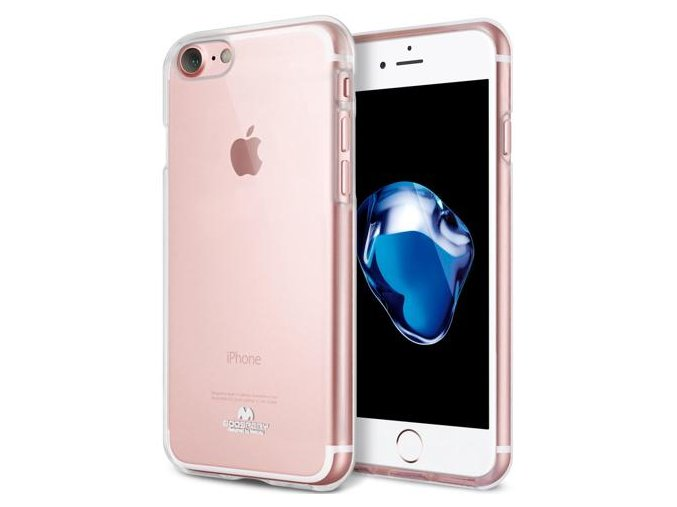 Pouzdro / kryt pro Apple iPhone 7 / 8 - Mercury, Jelly Transparent
