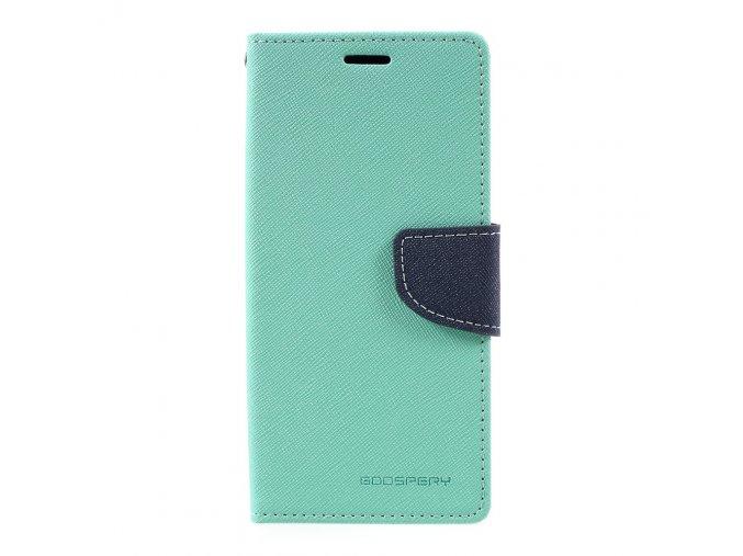 Pouzdro / kryt pro Samsung Galaxy S8 - Mercury, Fancy Diary Mint/Navy