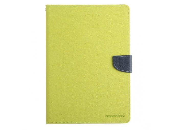 Pouzdro / kryt pro Apple iPad 2 / 3 / 4 - Mercury, Fancy Diary Lime/Navy