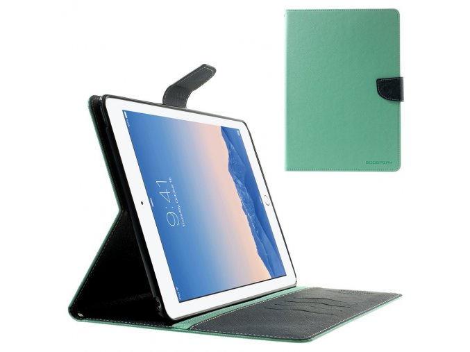 Pouzdro / kryt pro Apple iPad Air 2 - Mercury, Fancy Diary Mint/Navy