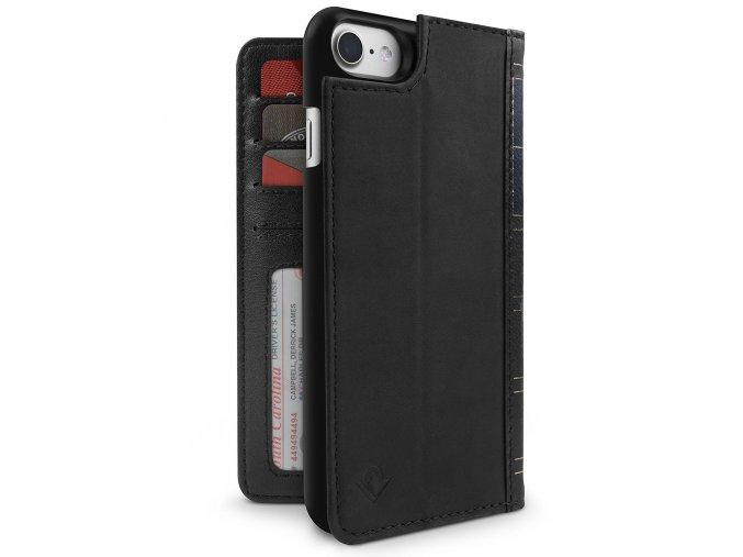 Pouzdro / kryt pro iPhone 7 / 8 - TwelveSouth, BookBook Black