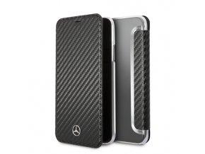 Pouzdro / kryt pro iPhone X - Mercedes, Dynamic Black Book