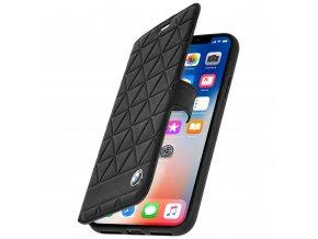 Ochranný kryt / pouzdro pro iPhone X - BMW, Hexagon Book Black