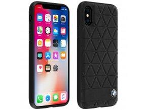 Ochranný kryt pro iPhone X - BMW, Hexagon Back Black