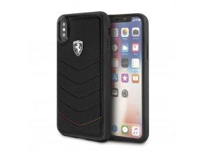 Ochranný kryt pro iPhone X - Ferrari, Heritage Back Black