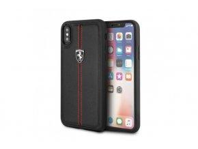 Ochranný kryt pro iPhone X - Ferrari, OffTrack Back Black