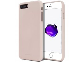 Ochranný kryt pro Apple iPhone 5 / 5S / SE - Mercury, Soft Feeling Pink Sand