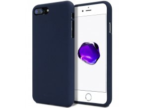 Ochranný kryt pro Apple iPhone 5 / 5S / SE - Mercury, Soft Feeling Midnight Blue