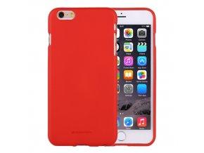 Ochranný kryt pro iPhone 6 PLUS / 6S PLUS - Mercury, Soft Feeling Red