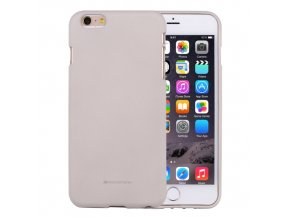 Ochranný kryt pro iPhone 6 PLUS / 6S PLUS - Mercury, Soft Feeling Stone