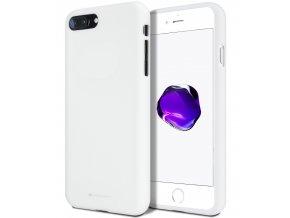 Ochranný kryt pro iPhone 7 PLUS / 8 PLUS - Mercury, Soft Feeling White