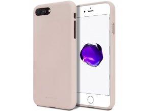 Ochranný kryt pro iPhone 7 PLUS / 8 PLUS - Mercury, Soft Feeling Pink Sand
