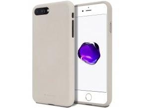 Ochranný kryt pro iPhone 7 PLUS / 8 PLUS - Mercury, Soft Feeling Stone