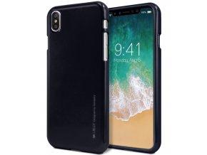 Ochranný kryt pro iPhone XS / X - Mercury, i-Jelly Black