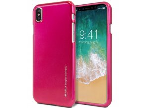 Ochranný kryt pro iPhone XS / X - Mercury, i-Jelly HotPink