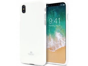 Ochranný kryt pro iPhone XS / X - Mercury, Jelly Case White