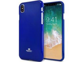 Ochranný kryt pro iPhone X - Mercury, Jelly Case Blue