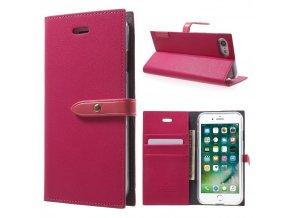Pouzdro / kryt pro iPhone 7 / 8 - Mercury, Romance Diary HOTPINK/PINK