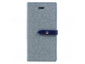 Pouzdro / kryt pro iPhone 7 / 8 - Mercury, Milano Diary BLUE/BLUE