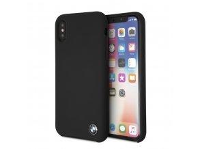 Ochranný kryt pro iPhone X - BMW, Silicone Black