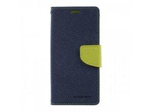 Pouzdro / kryt pro Samsung Galaxy Note 8 - Mercury, Fancy Diary NAVY/LIME