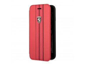 Pouzdro / kryt pro iPhone 8 / 7 / 6S / 6 - Ferrari, OffTrack Book Red