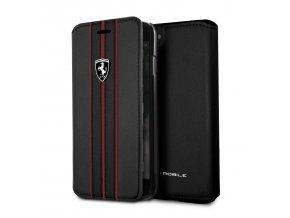 Pouzdro / kryt pro iPhone 8 / 7 / 6S / 6 - Ferrari, OffTrack Book Black