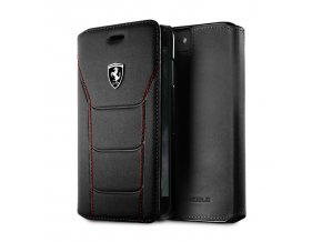 Pouzdro / kryt pro iPhone 8 / 7 / 6s / 6 - Ferrari, Heritage 488 Book Black