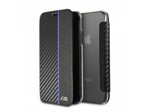Ochranný kryt / pouzdro pro iPhone X - BMW, Carbon Book Navy