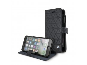 Pouzdro / kryt pro iPhone 8 / 7 - BMW, Hexagon Book Black