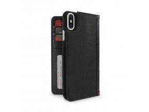 Ochranný kryt / pouzdro pro iPhone X - TwelveSouth, BookBook Black