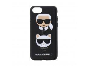 Ochranný kryt pro iPhone 7 / 8 - Karl Lagerfeld, Choupette Black
