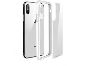 Ochranný kryt pro iPhone X - HOCO, ZeroPoint White