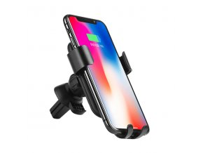 Bezdrátová rychlá nabíječka / držák do auta pro iPhone 8 / 8 Plus / X - HOCO, CW12 Delightful