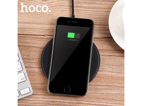 Bezdrátová nabíječka pro iPhone - HOCO, CW6 Homey Black